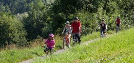 Biken im Naturpark