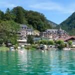 Aussenansicht vom Hotel Ebners Waldhof in Fuschl am See